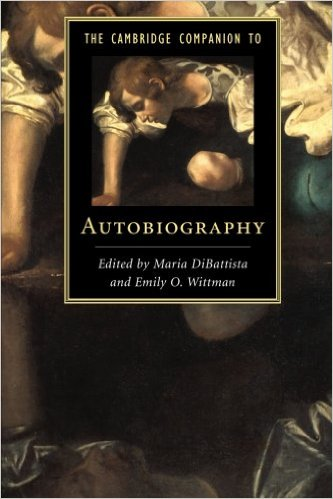 Cambridge Companion to Autobiography (copyediting)